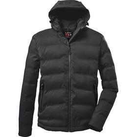 killtec KOW 151 Quilted Jacket Men, zwart